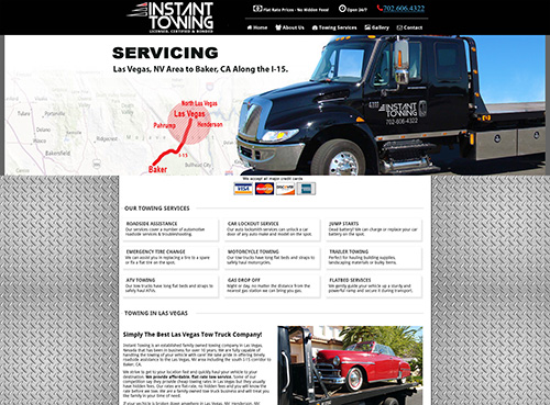 instant towing las vegas